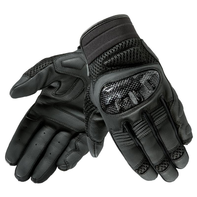 Kožené moto rukavice Rebelhorn Gap II CE - černá - inSPORTline 030ddf1774