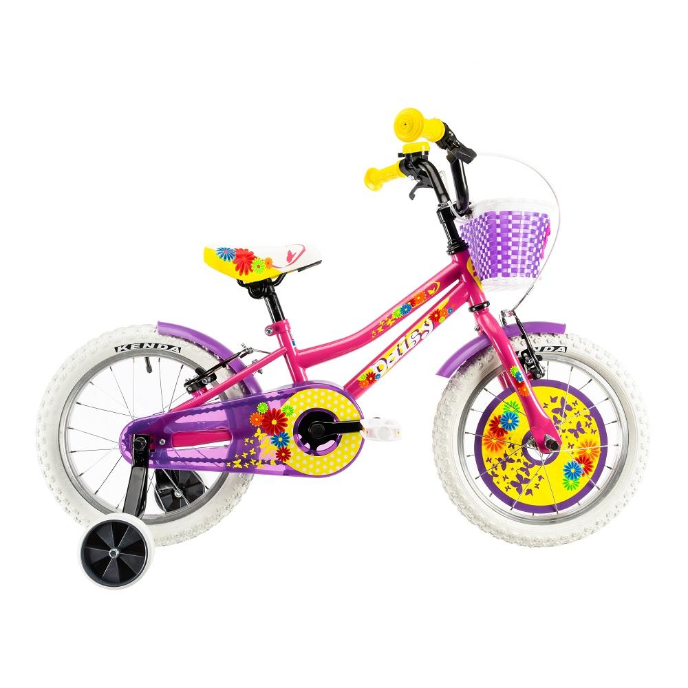 """Dětské kolo DHS Daisy 1604 16"""" - model 2019 Pink - Záruka 10 let"""