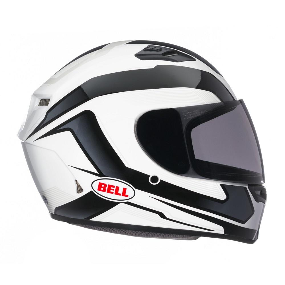 Moto přilba BELL Qualifier černo-bílá - S (55-56) - záruka 5 let