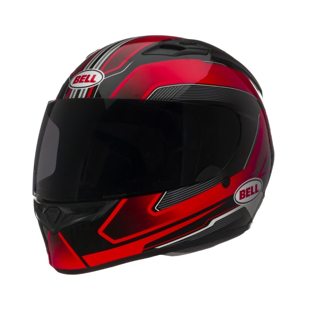 Moto přilba BELL Qualifier červená - S (55-56) - záruka 5 let