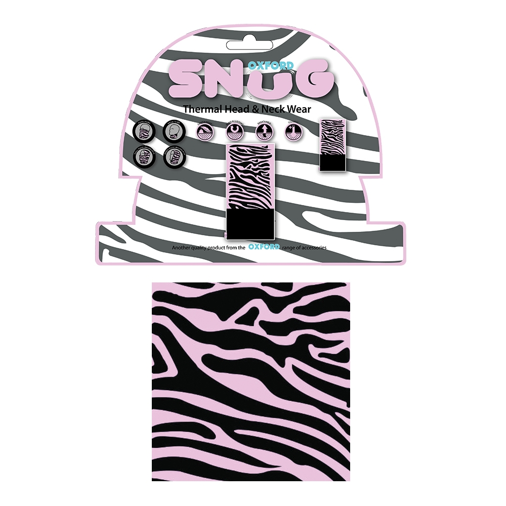 Oxford Snug Pink Zebra