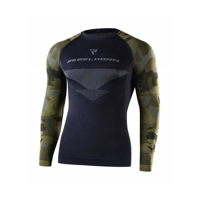 Rebelhorn Freeze Jersey Camo  XXL