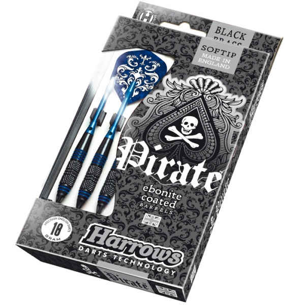 Harrows Pirate Soft 16g K Blue 3ks