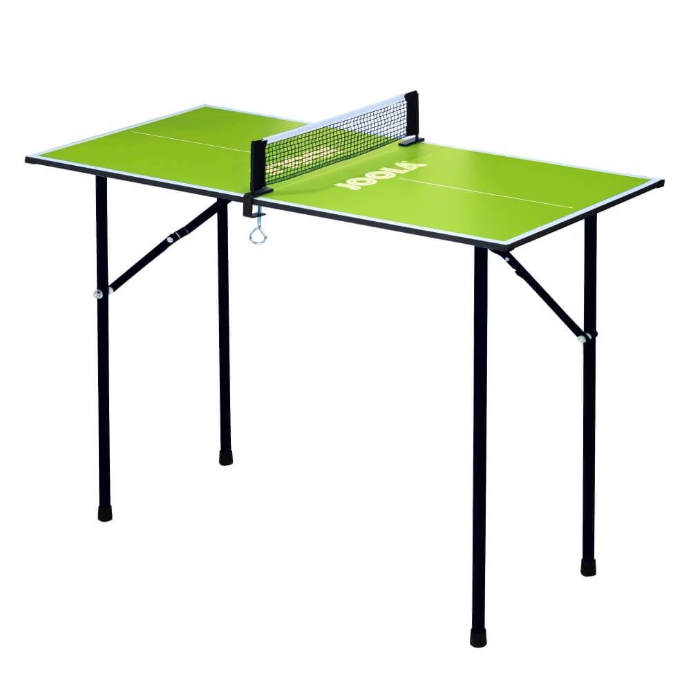 Stůl na stolní tenis Joola Mini 90x45 cm zelená
