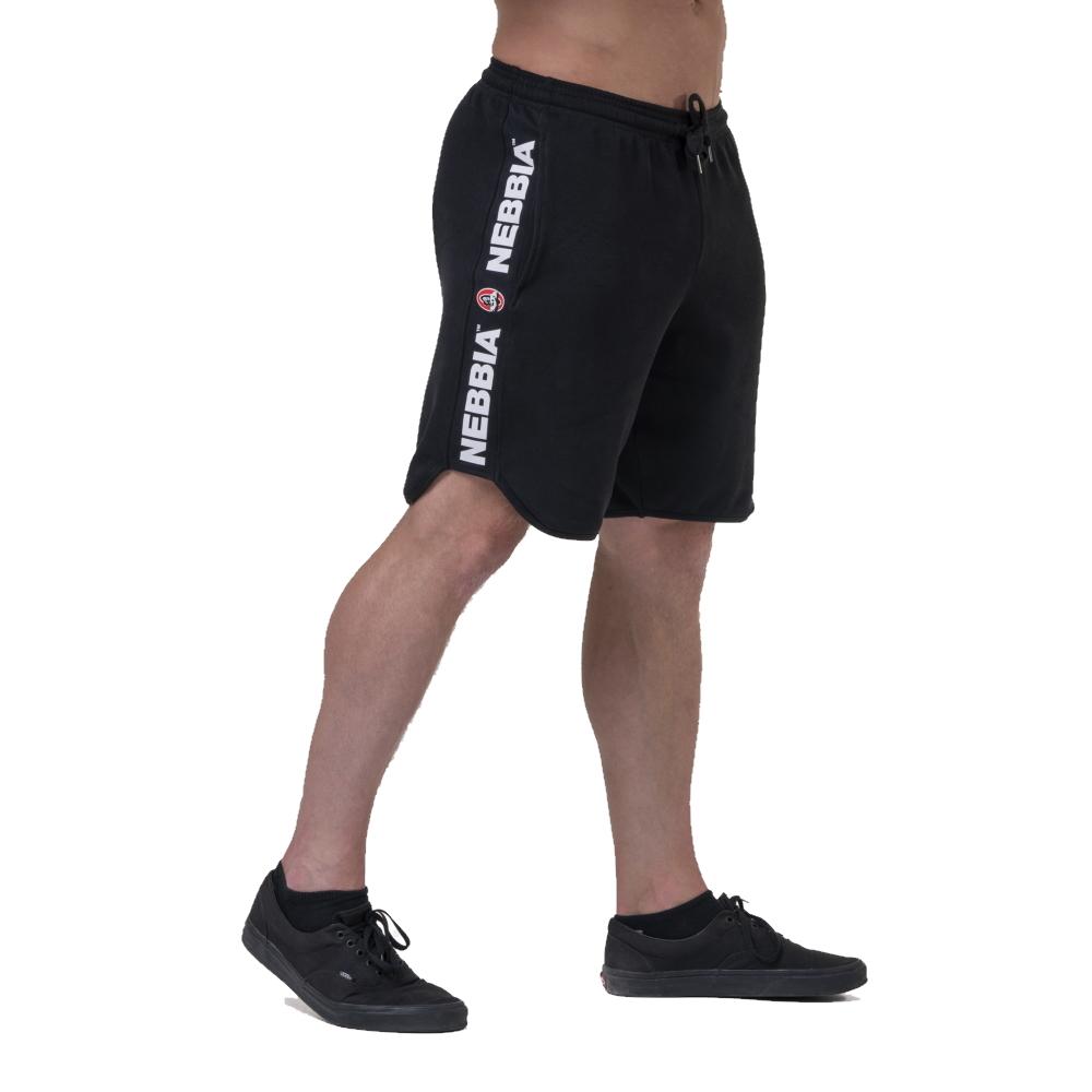 Pánské šortky Nebbia Legend Approved 195  Black  M