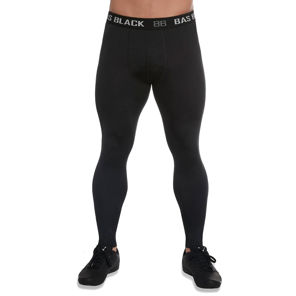 Pánské sportovní legíny BAS BLACK Evergym  černá  S. Technický popis:  funkční elastický materiál (PLUSH-ZERO ARCHROMA) certifikovaná technologie výroby (Oeko-Tex) zdravotně nezávadný materiál prodyšný materiál který odvádí vlhkost vhodné pro posilování, fitness cvičení, běhání, jógu jednoduchý design širší guma v pasu materiál: 85 % polyester, 15 % elastan tloušťka materiálu: 200 DEN       Rozměr S M L XL     Váha v kg 60-74 74-88 88-102 102-116   Výška v cm 162-170 170-178 178-186 186-194   Obvod pasu v cm 73-81 81-89 89-97 97-109   Obvod boků v cm 90-98 98-106 106-114 114-122