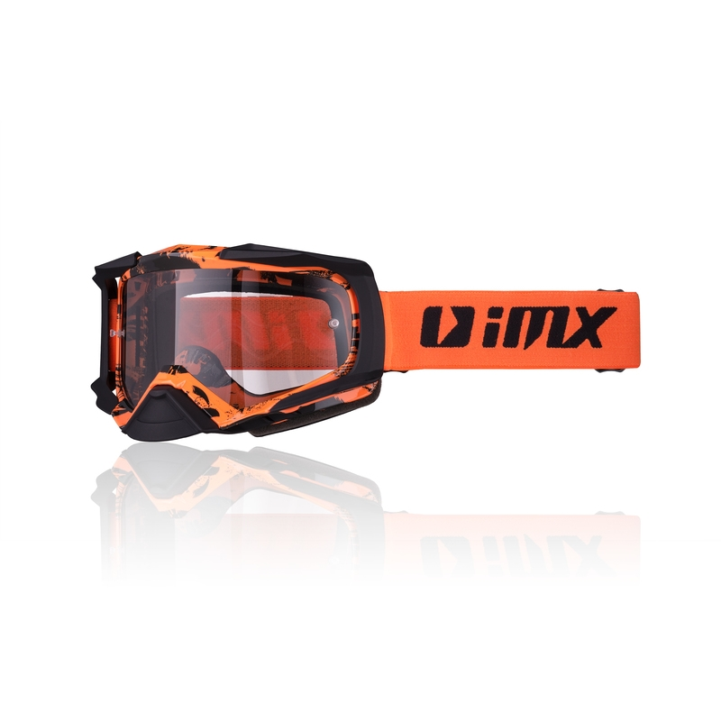 iMX Dust Graphic OrangeBlack Matt