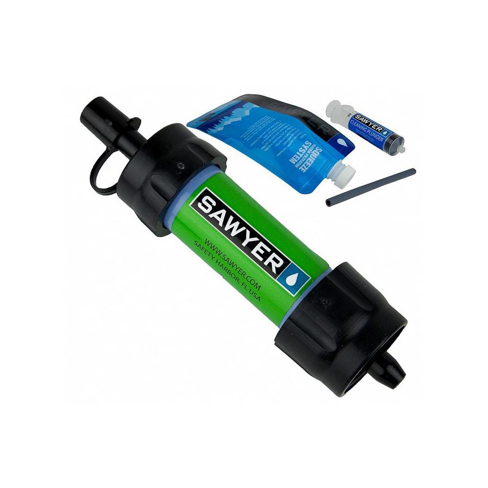 Vodní cestovní filtr Sawyer SP128 Mini zelený