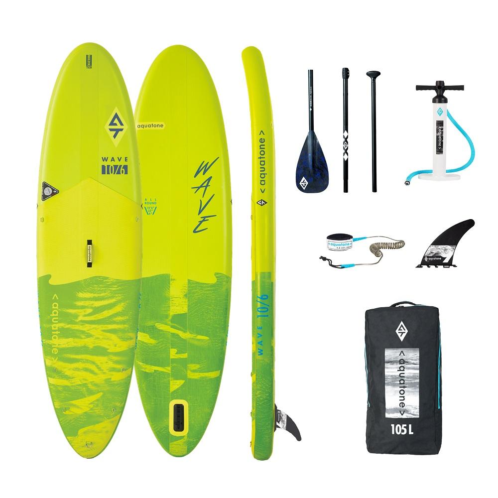 Paddleboard s příslušenstvím Aquatone Wave 10.6