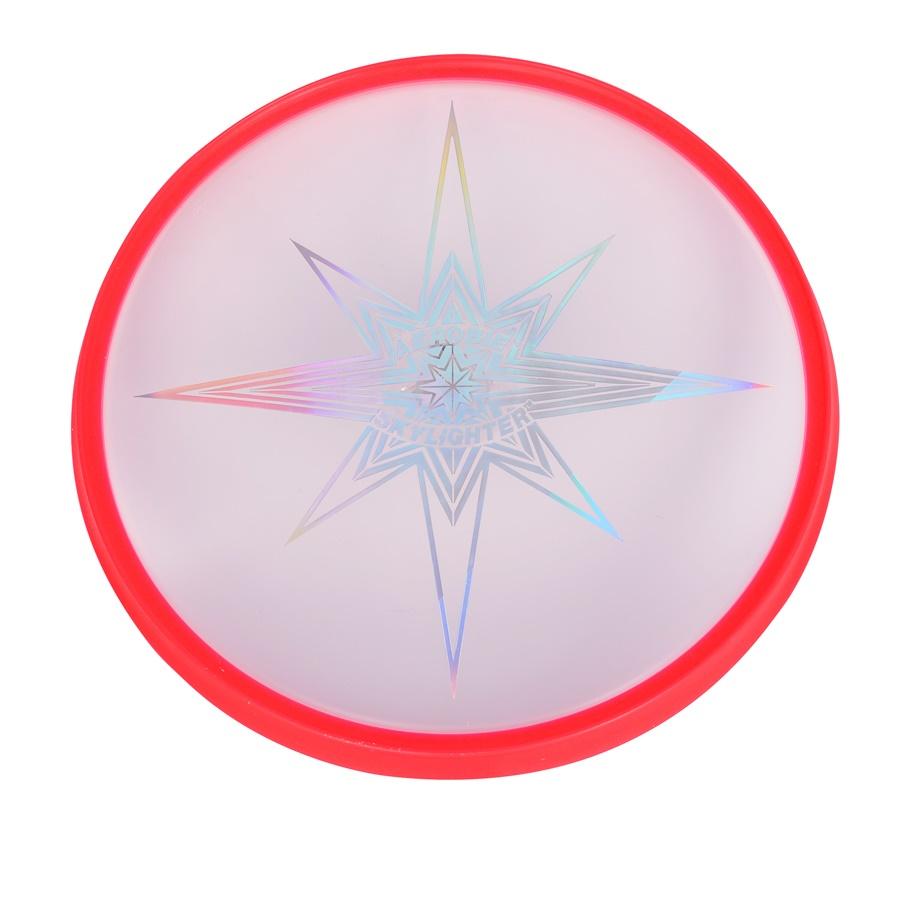 Svítící létající talíř Aerobie SKYLIGHTER červená