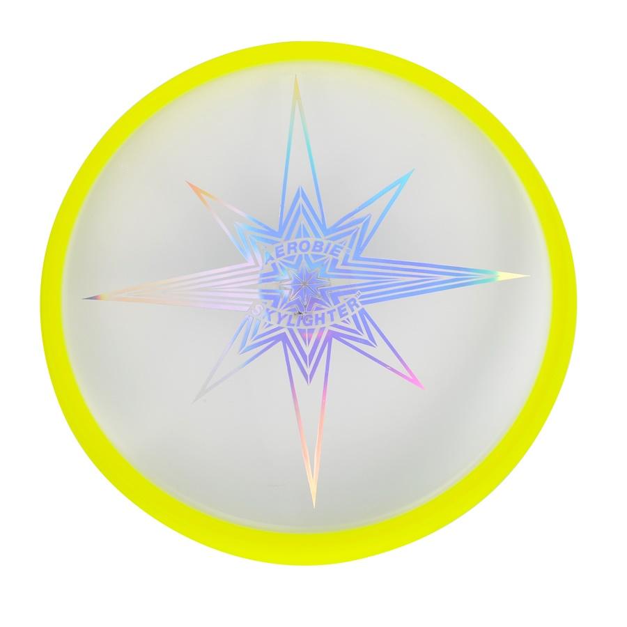 Svítící létající talíř Aerobie SKYLIGHTER žlutá