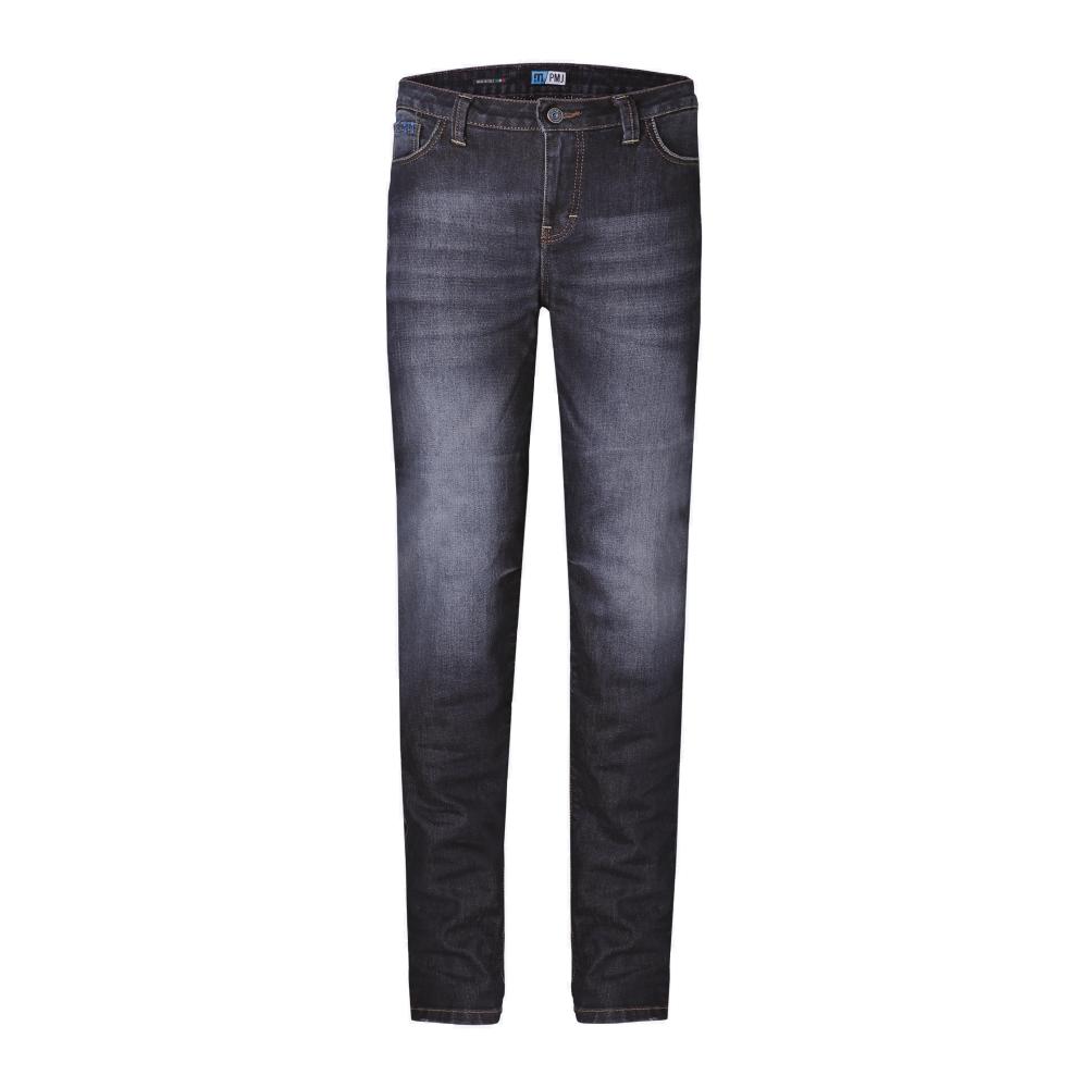 Dámské moto jeansy PMJ Legend Lady modrá - 27