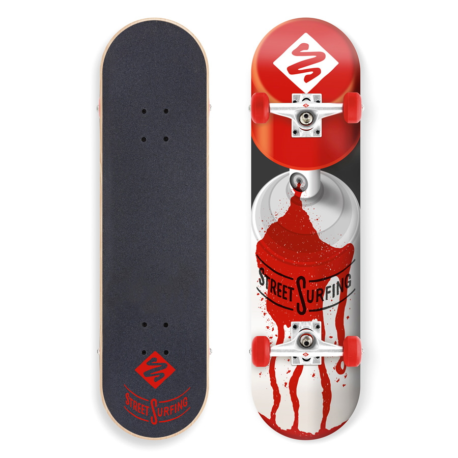 """Skateboard Street Surfing Street Skate 31"""" Cannon II"""