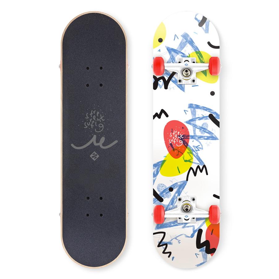 """Skateboard Street Surfing Street Skate 31"""" Wall Writer II"""