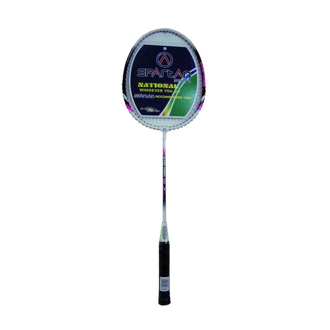 Badmintonová raketa SPARTAN BOSA růžová