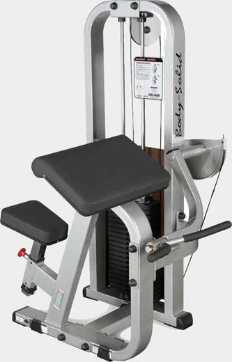 Posilovač bicepsů Body-Solid SBC-600G/2 - Záruka 10 let + Montáž zdarma + Servis u zákazníka