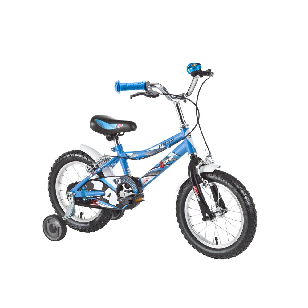 """Dětské kolo DHS Speed 1403 14"""" - model 2016 Blue"""