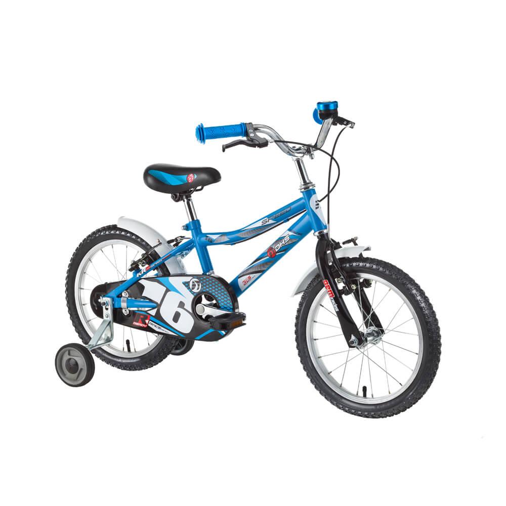 """Dětské kolo DHS Speed 1603 16"""" - model 2016 Blue"""