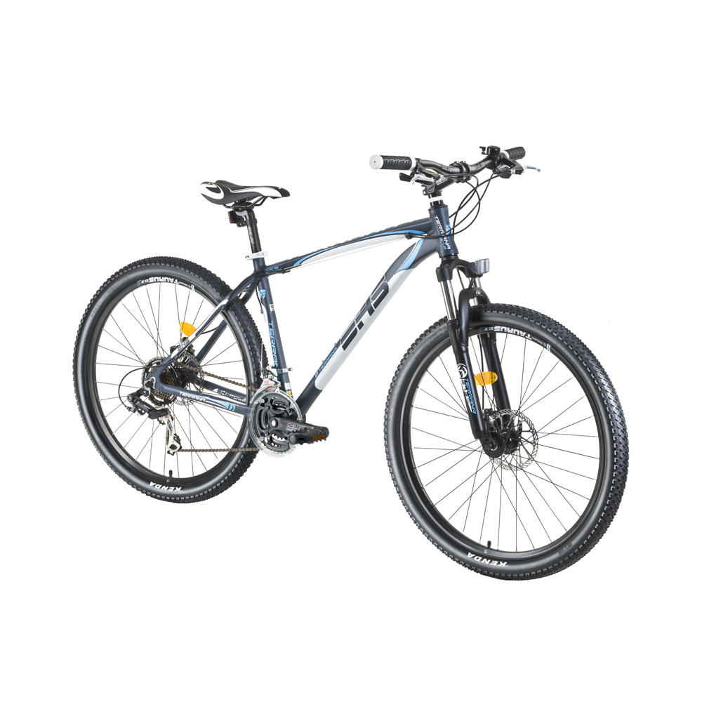 "Horské kolo DHS Terrana 2725 27,5"" - model 2016 Gray-White - 18"""