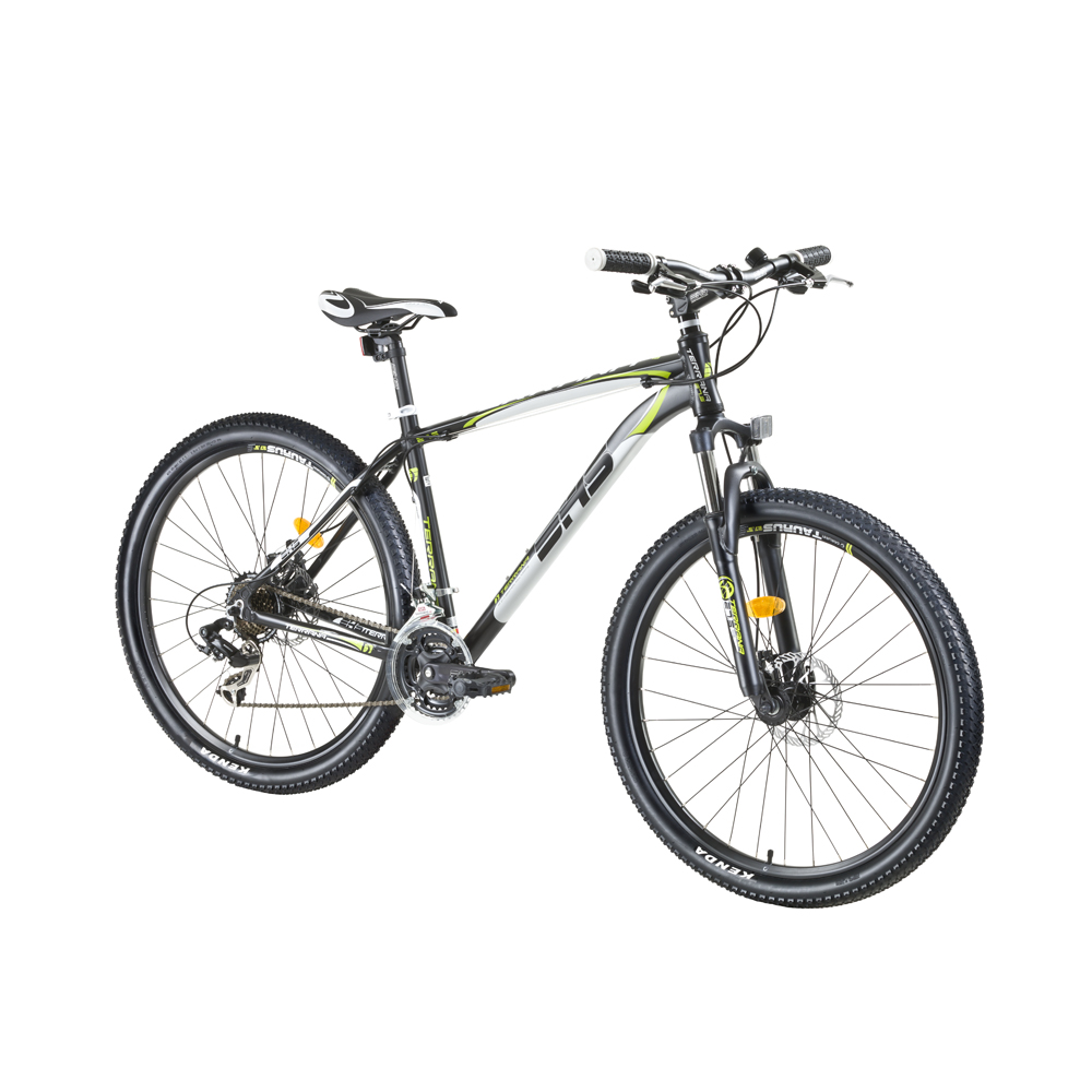 "Horské kolo DHS Terrana 2725 27,5"" - model 2016 Black-Gray-Green - 18"""