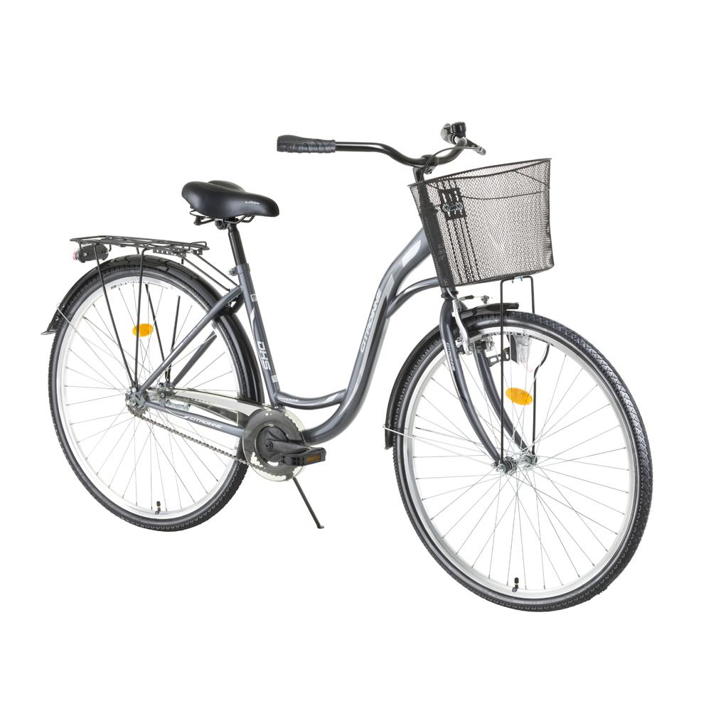 """Městské kolo DHS Citadinne 2834 28"""" - model 2016 Gray - 20"""""""