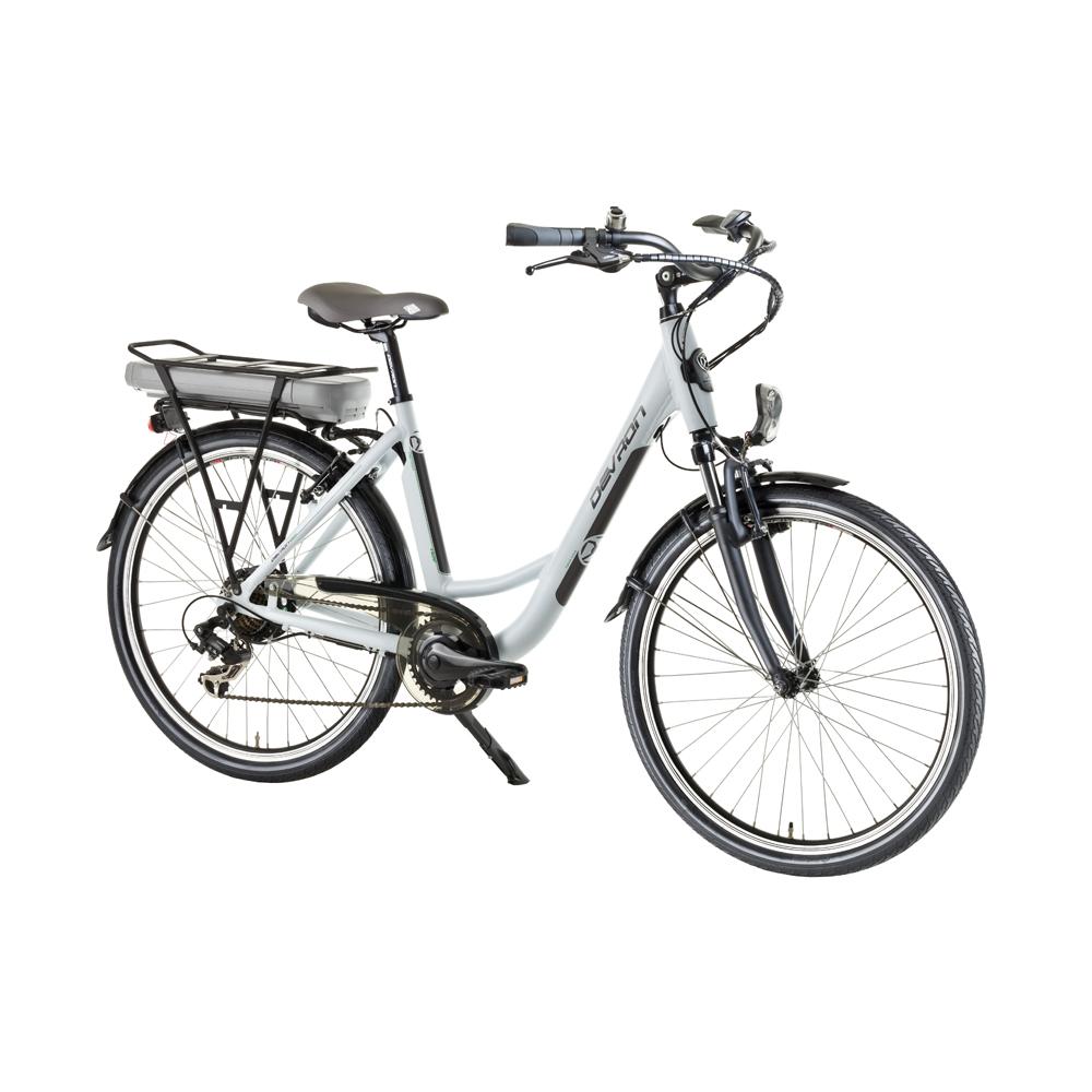 "Městské elektrokolo inSPORTline Devron 26122 - model 2016 Pure White - 18"" - Záruka 10 let"
