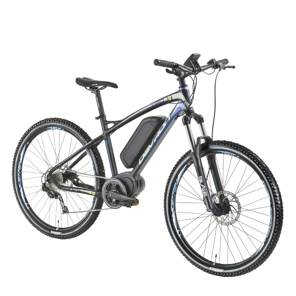 "Horské elektrokolo Devron 27225 - model 2016 Race Black - 19,5"" - Záruka 10 let"