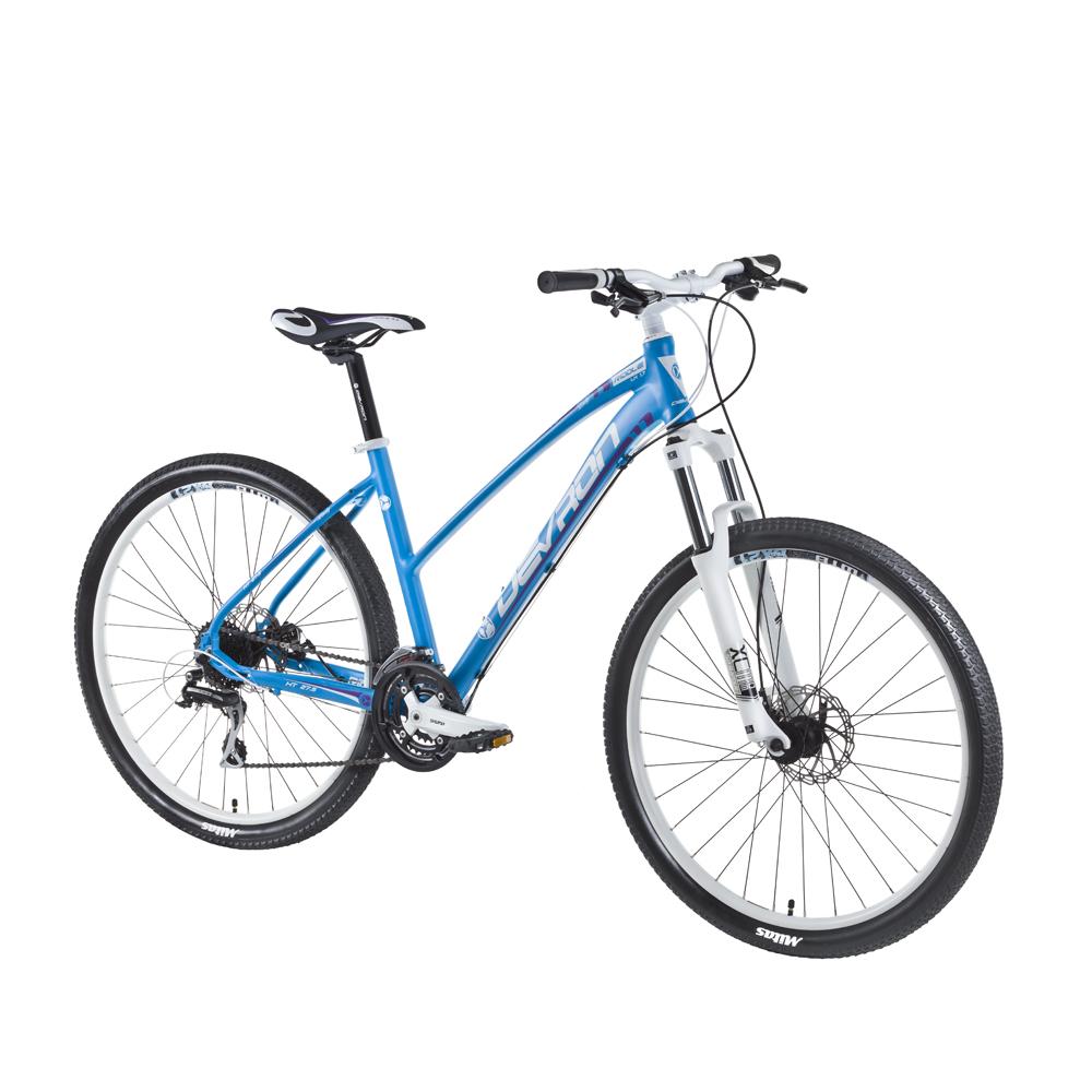 "Dámské horské kolo Devron Riddle LH1.7 27,5"" - model 2016 Laguna Blue - 16,5"" - Záruka 10 let"