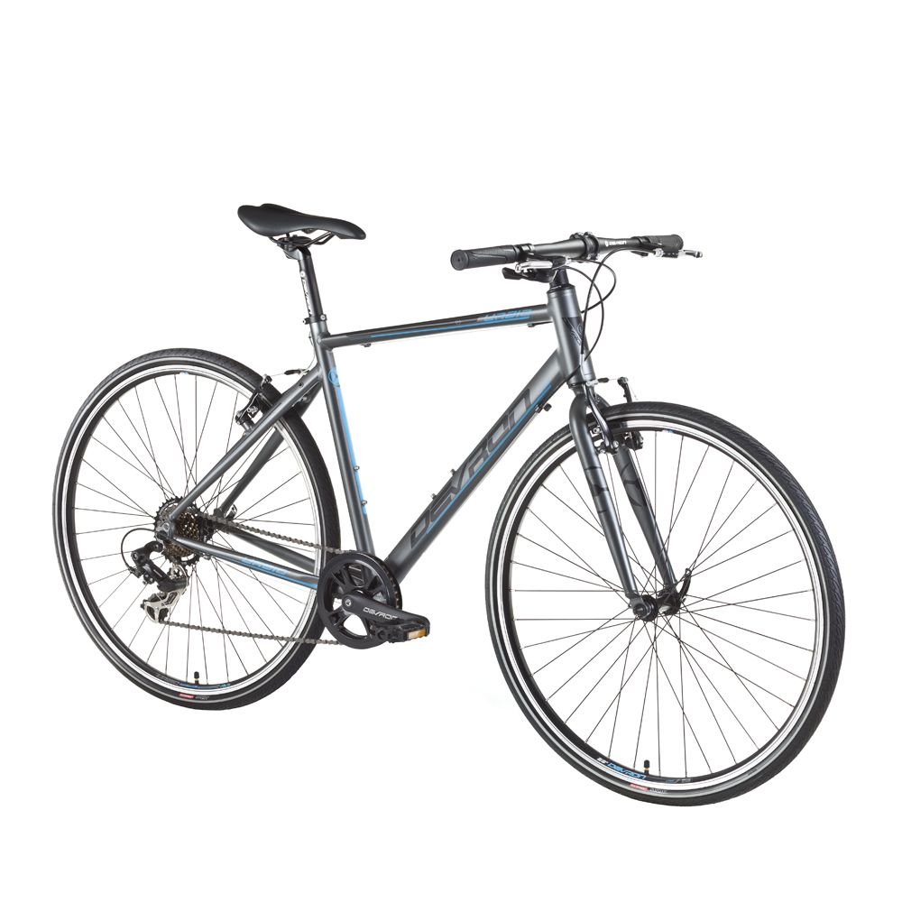 "Crossové kolo Devron Urbio U1.8 - model 2016 Ice Grey - 20,5"" - Záruka 10 let"
