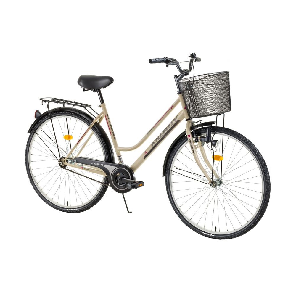 Dámské trekingové kolo Kreativ Comfort 2812 - model 2017 Ivory - Záruka 10 let