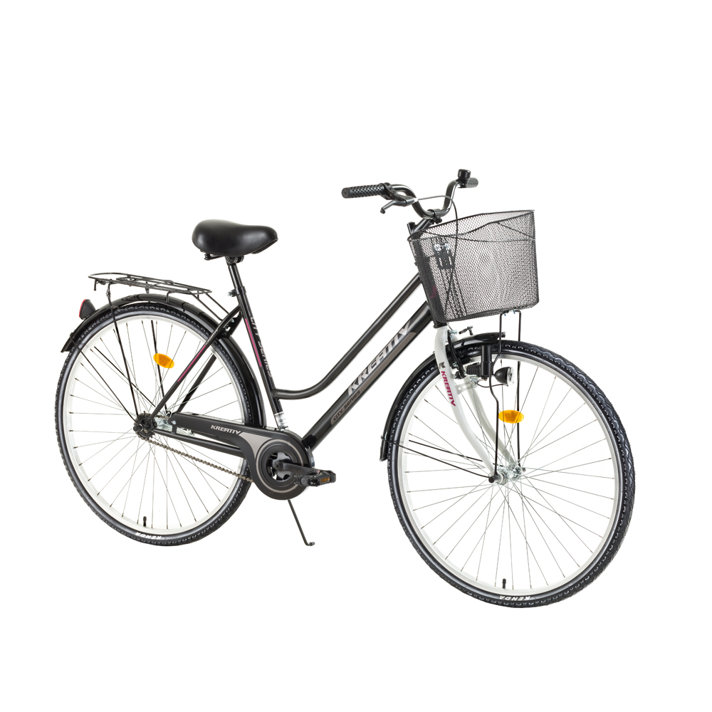 Dámské trekingové kolo Kreativ Comfort 2812 - model 2017 Black - Záruka 10 let