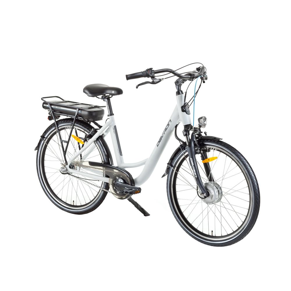 """Městské elektrokolo Devron 26120 26"""" - model 2017 White - 18"""" - Záruka 10 let"""