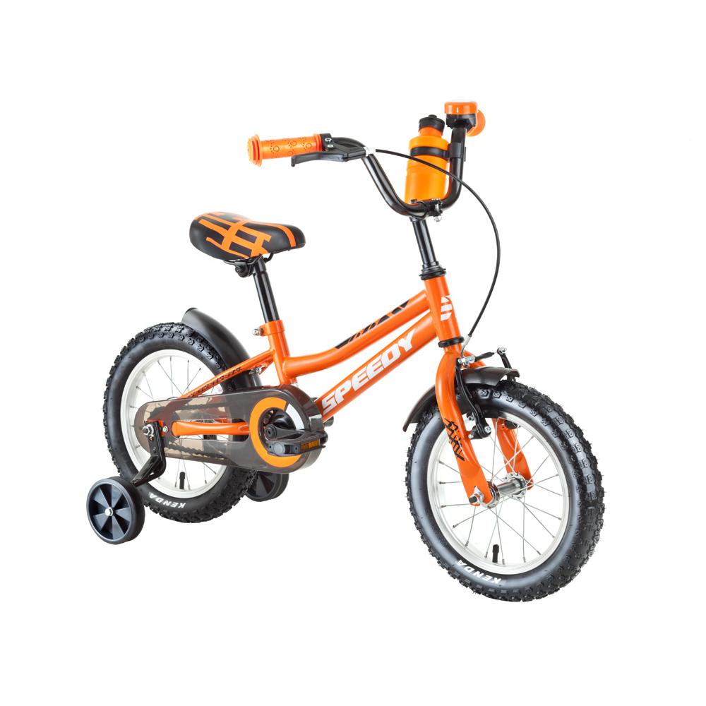 """Dětské kolo DHS Speedy 1601 16"""" - model 2018 Orange - Záruka 10 let"""