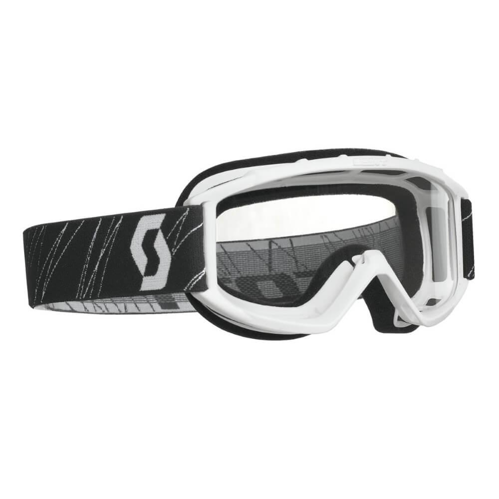 Dětské moto brýle SCOTT 89Si MXVII White