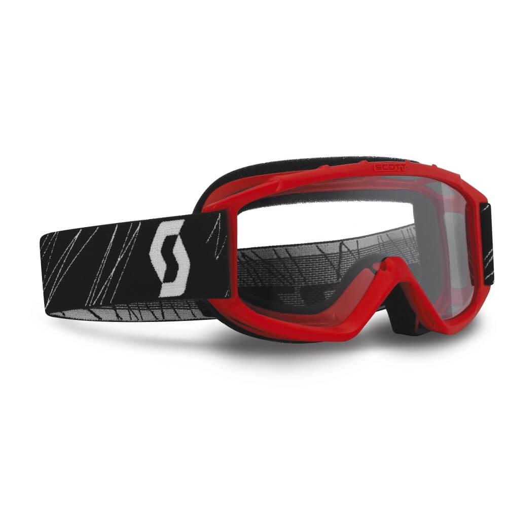 Dětské moto brýle SCOTT 89Si MXVII Red