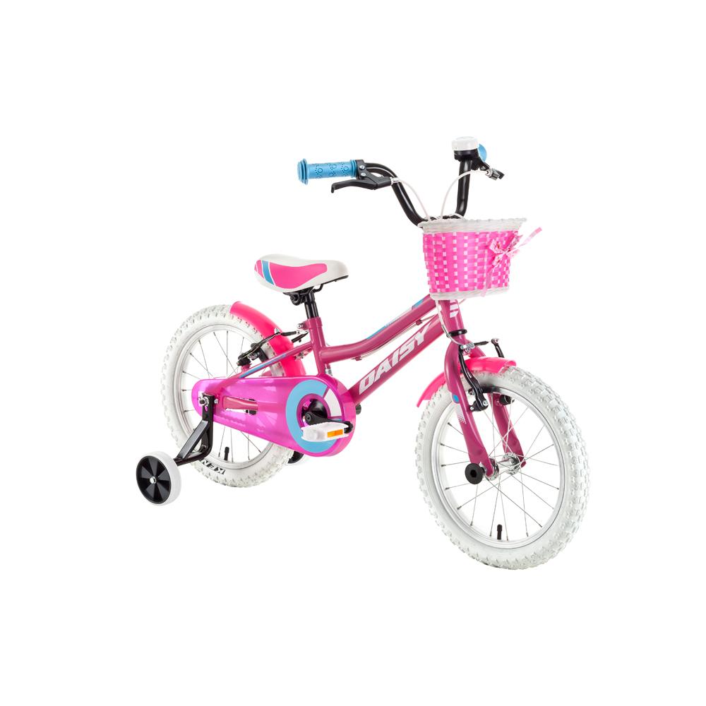 """Dětské kolo DHS Daisy 1604 16"""" - model 2018 Pink - Záruka 10 let"""