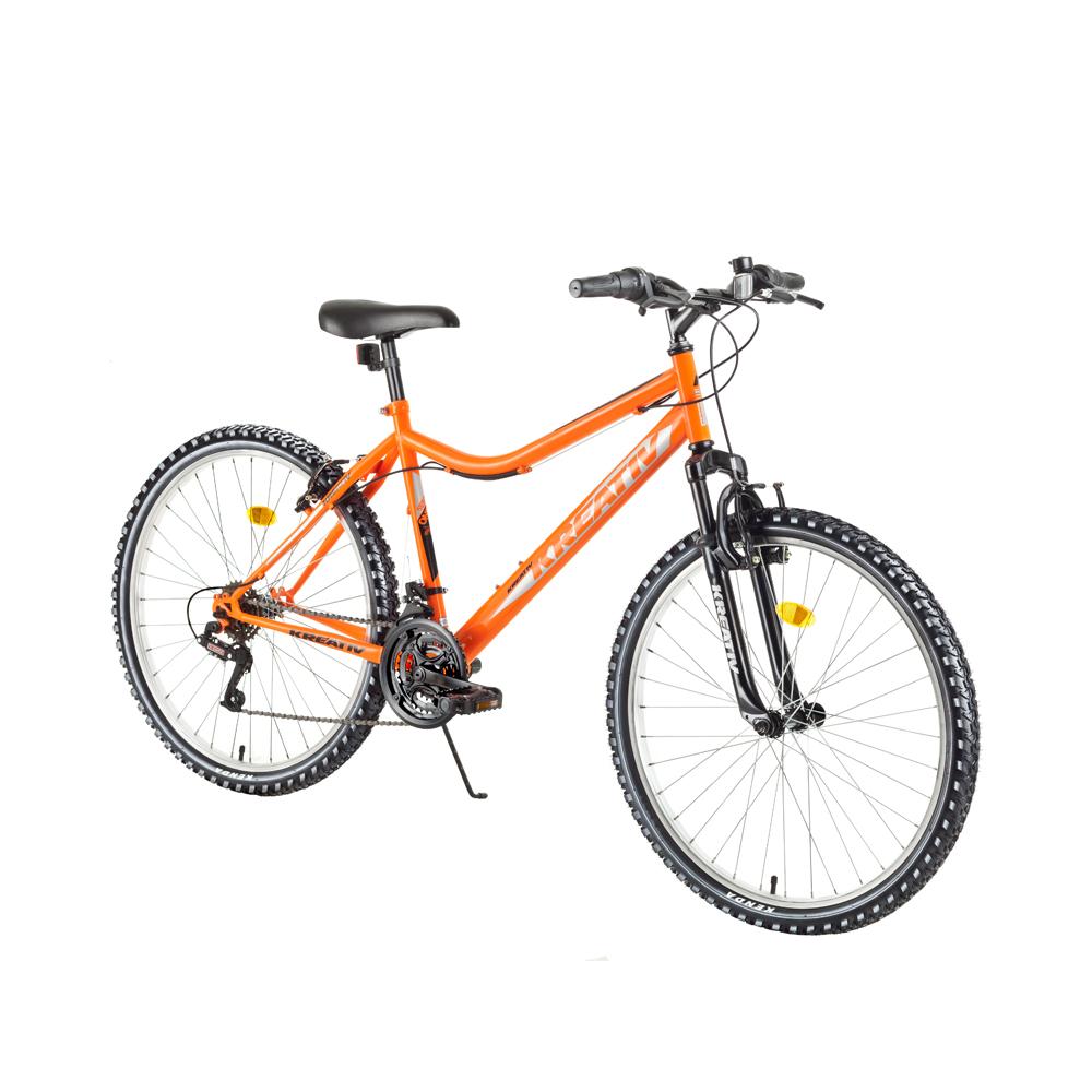 """Dámské horské kolo Kreativ 2604 26"""" - model 2018 Orange - Záruka 10 let"""