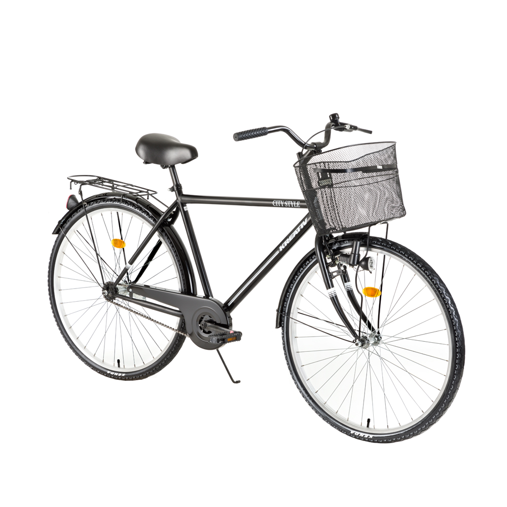 Trekingové kolo Kreativ City Series 2811 - model 2018 Black - Záruka 10 let