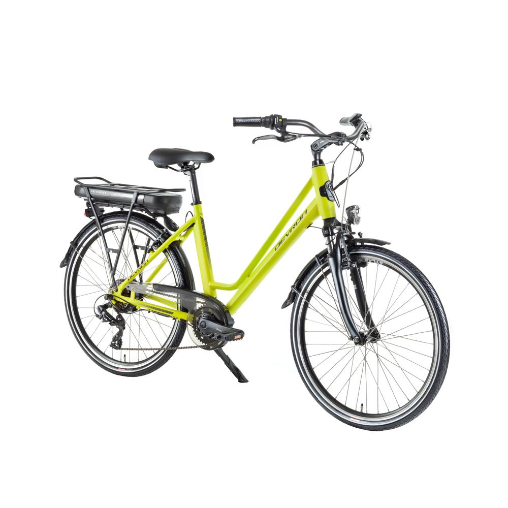 "Městské elektrokolo Devron 26122 - model 2018 Yellow - 18"" - Záruka 10 let"