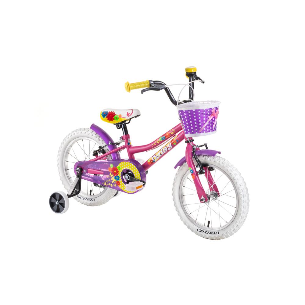 """Dětské kolo DHS Daisy 1404 14"""" - model 2019 Pink - Záruka 10 let"""