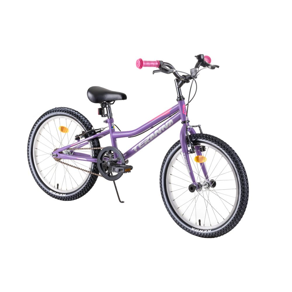 """Dětské kolo DHS Teranna 2004 20"""" - model 2019 Purple - Záruka 10 let"""