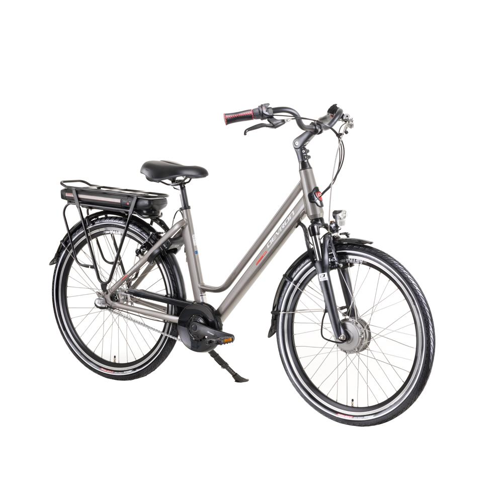 """Městské elektrokolo Devron 28122 - model 2019 Grey - 19,5"""" - Záruka 10 let"""