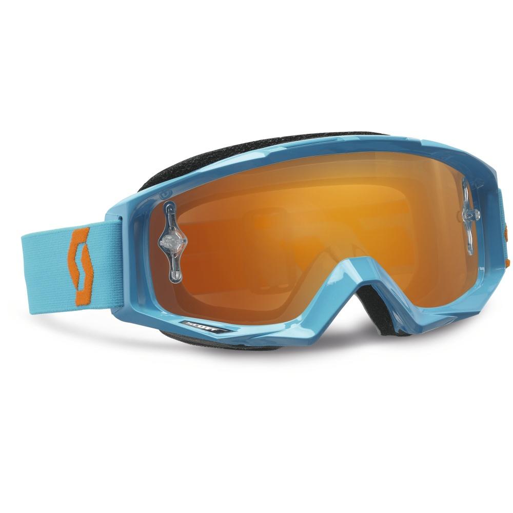 Moto brýle Scott Tyrant MXV modro-oranžová