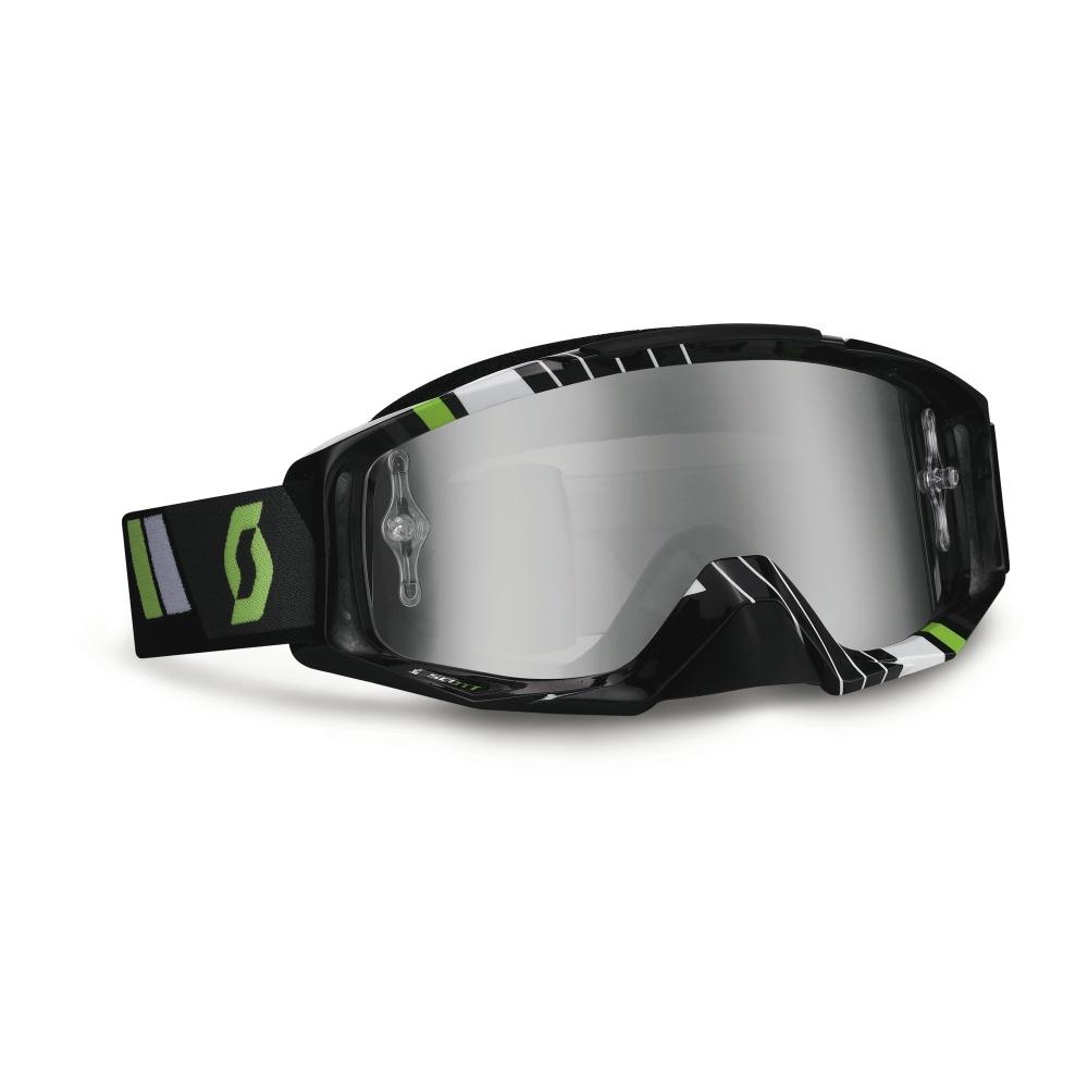 Moto brýle Scott Tyrant MXV černo-zelená
