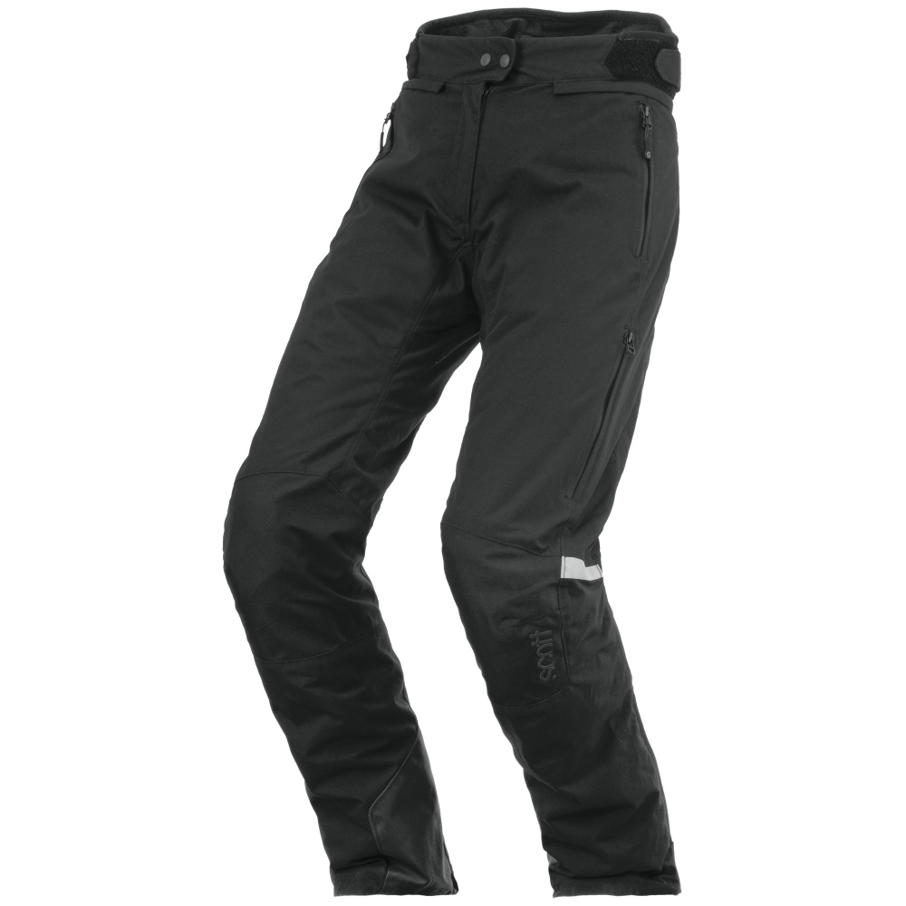 Dámské moto kalhoty SCOTT W's Turn TP černá - XXXXL (46)