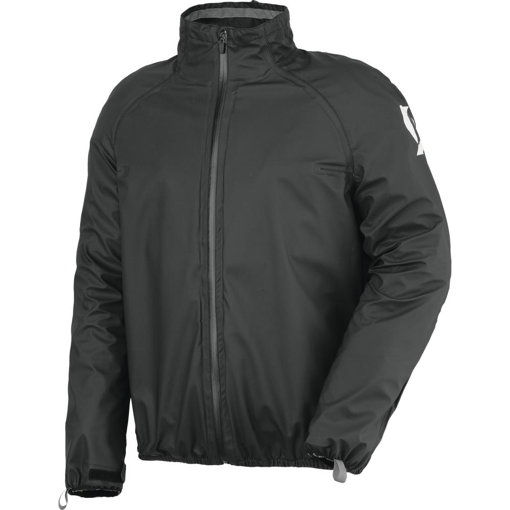 Moto pláštěnka Scott Ergonomic PRO DP černá - S