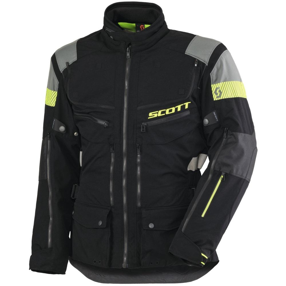 Moto bunda Scott All Terrain PRO DP černo-šedá - L (50-52)