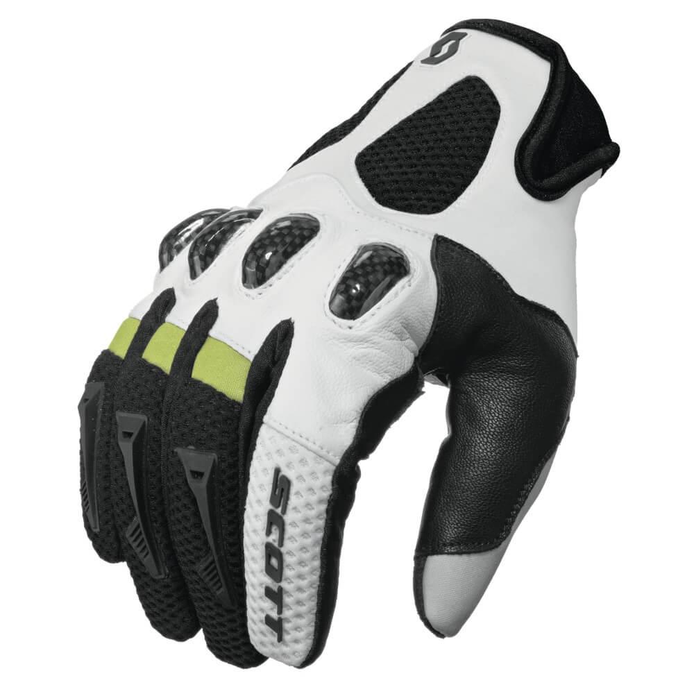 Motokrosové rukavice Scott Assault černo-bílá - M