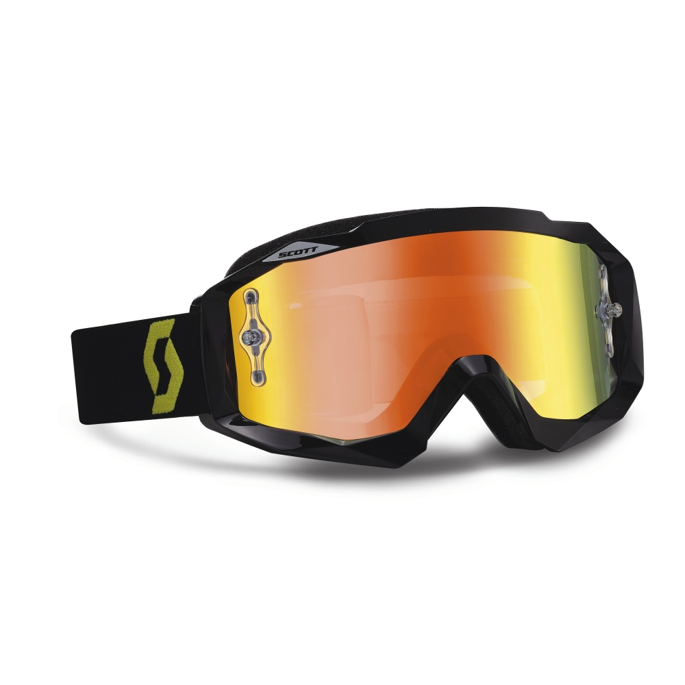 Moto brýle Scott Hustle MXV černo-žlutá