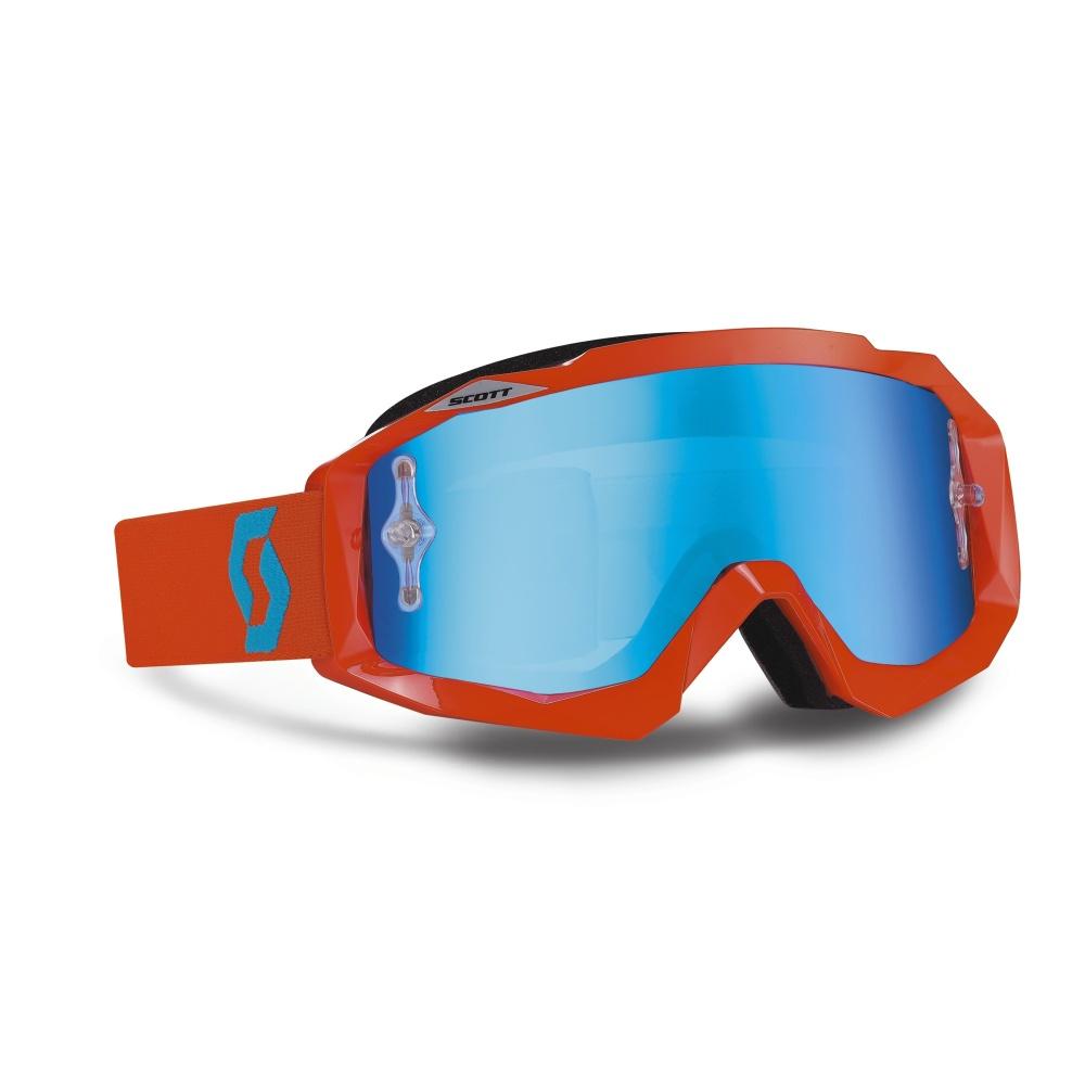 Moto brýle Scott Hustle MXV oranžová